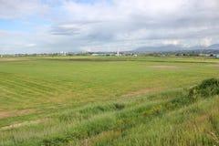 Ländlicher Richmond Farm Land Lizenzfreies Stockbild