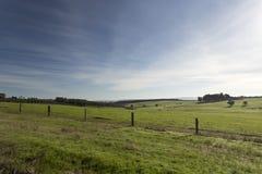Ländliches Australien im Winter Lizenzfreie Stockfotos