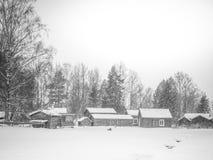 Ländliches Dorf Lizenzfreies Stockbild