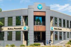 Ländliches Finanzbüro in Bendigo, Australien Lizenzfreies Stockbild