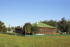 Ländliches Haus Stockfotos