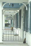 Ländliches Postäußeres, Uniontown, MD Stockbild