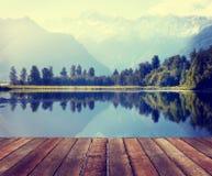 Ländliches Szenen-draußen Natur-Bestimmungsort-Konzept Stockfotos