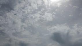 Längd i fot räknat för Cloudscape hög definitionTid schackningsperiod lager videofilmer