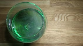 Längd i fot räknat för hd för tabell för absintexponeringsglasrök träinget