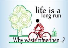 Länge - kör liv vektor illustrationer