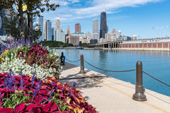 Längs den Chicago pir royaltyfri foto