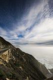längs den Stillahavs- klippan Royaltyfria Foton