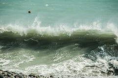 längs havet Arkivbild