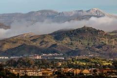 Längst ner naturreserv för El Torcal, Malaga Royaltyfria Foton