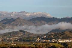 Längst ner naturreserv för El Torcal, Malaga Royaltyfri Bild