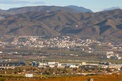 Längst ner naturreserv för El Torcal, Malaga Fotografering för Bildbyråer