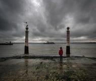 längtan lisbon portugal arkivfoto