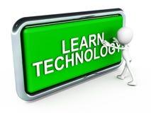 Lär teknologi Royaltyfri Fotografi