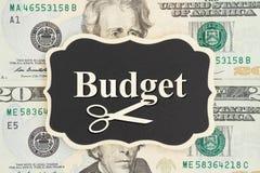Lära att klippa din budget Royaltyfria Foton