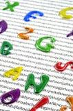 Lära att läsa och skriva Arkivbilder