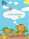 Lära det roligt engelska alfabetet som är lätt och stock illustrationer