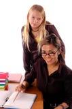 lära för 6 klassrum Royaltyfri Fotografi