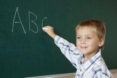 lära för abc Arkivbild