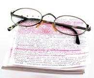 lära för bok Arkivfoton