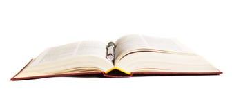 lära för bok som är öppet Arkivbilder