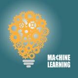Lära för maskin och konstgjord intelligens Royaltyfri Foto