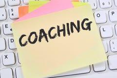 Lära för seminarium för coachning- och mentoringutbildningsutbildning som är halvt arkivbilder