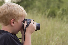 Lära fotografi Arkivbilder