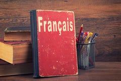 Lära franskt begrepp royaltyfri foto