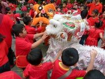 Lära kinesisk kultur royaltyfria foton