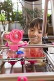 Lära om skrivaren 3D Royaltyfria Foton