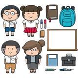 Lärare och deltagare Royaltyfri Foto