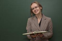 Läraren välkomnar gruppen Royaltyfria Bilder