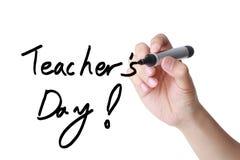 Lärares dag fotografering för bildbyråer