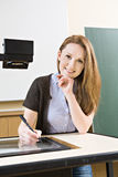 lärarinna arkivbild