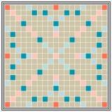 Lärdom för brädeleken, bildande kvalifikationer, stiger ombord den största Scrabble stock illustrationer