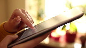 Läs- eBook stock video