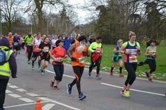 Läs- halv maraton 2017 - 19th mars 2017 Arkivbilder