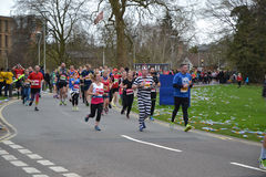 Läs- halv maraton 2017 - 19th mars 2017 Royaltyfria Bilder