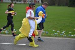 Läs- halv maraton 2017 - 19th mars 2017 Arkivfoto