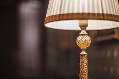 Läs- lampa med skugga Arkivfoto