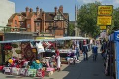 Läs- marknad, Berkshire Fotografering för Bildbyråer