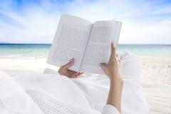 Läs- och avslappnande begrepp arkivbilder