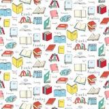 läsa för böcker vektor illustrationer