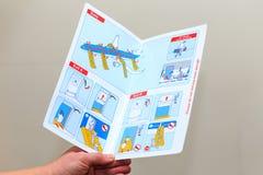 Läsa om säkerhet Fotografering för Bildbyråer