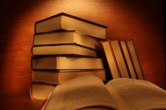 Läseböcker arkivbilder