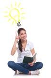 Läseböcker ger dig idéer Arkivfoton