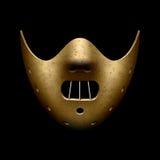 Läskig Halloween maskering Arkivfoton