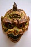 Läskig och grotesk maskering Arkivfoton