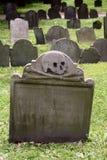 läskig tombstone Royaltyfri Bild